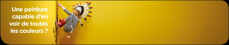 Vous cherchez une peinture capable d'en voir de toutes les couleurs ? Découvrez les peintures lavables dans notre assortiment.