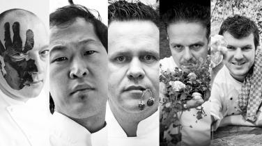 5 chefs