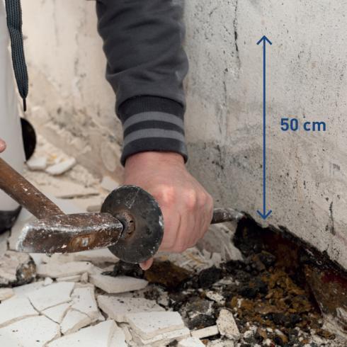 Injecter des murs humides