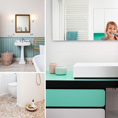 Peindre votre salle de bains ? Laissez-vous inspirer