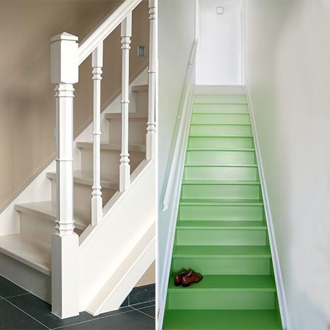 Peignez votre escalier : de l'inspiration