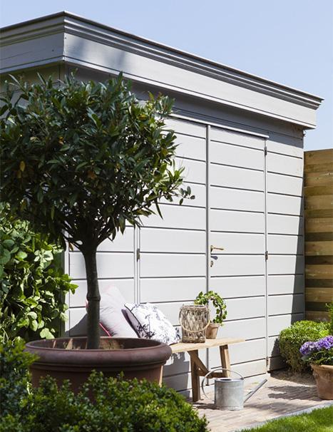 De l'inspiration pour peignez votre abri de jardin