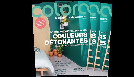 Le magazine colora