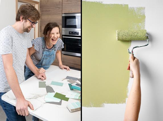 conseil couleur de colora - choisir des couleurs ensemble et recevoir des conseils de peinture
