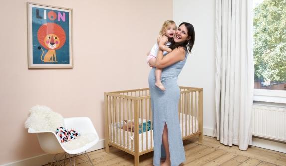 peindre la chambre de bébé - éviter les odeurs de peinture