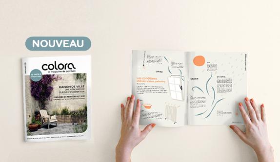 Découvrez la nouvelle édition de printemps du magazine colora