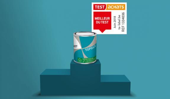 Test Achats couronne Topsilk 'Meilleure du Test'