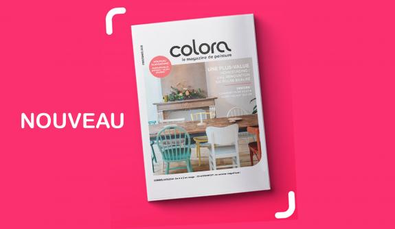 Laissez-vous  vous inspirer par notre magazine colora
