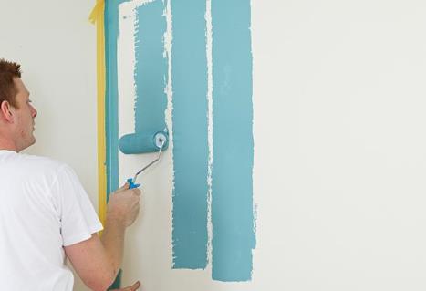Peindre un mur intérieur de plâtre