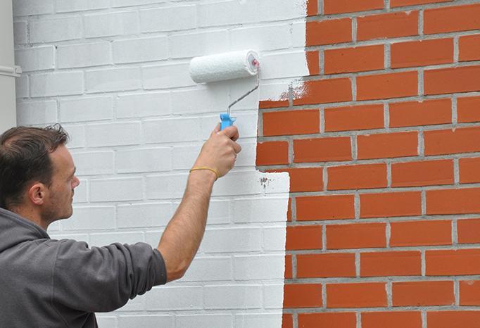 Peindre Des Murs Extérieurs En Briques Colora Be