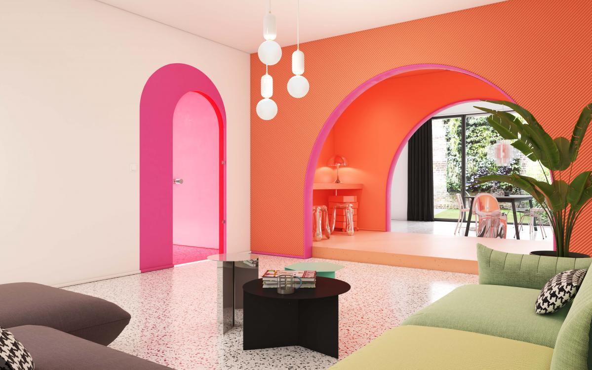 Osez choisir la couleur dans le living