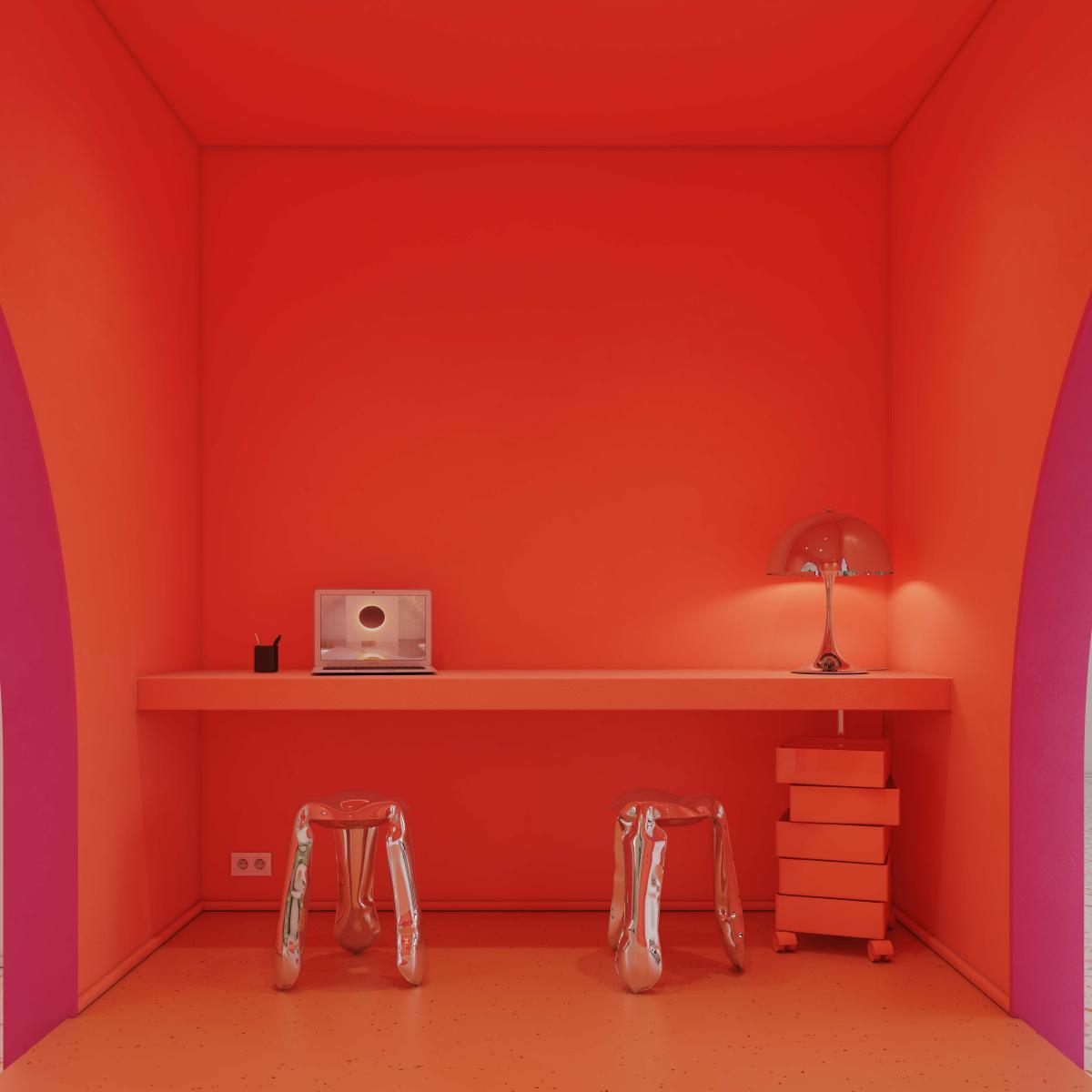 Osez choisir une espace explosive dans une couleur