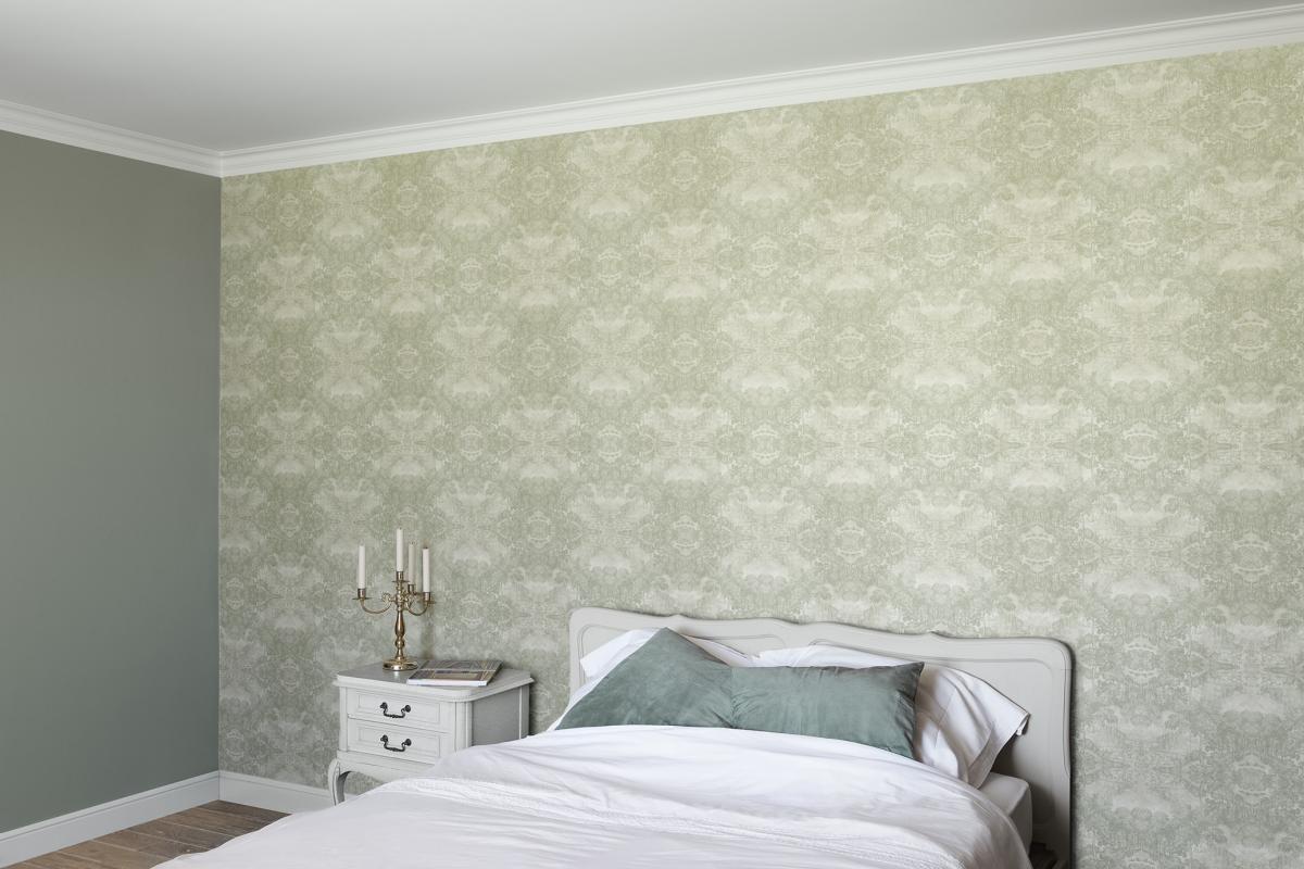 Tapisser votre mur avec le papier peint Soft Green