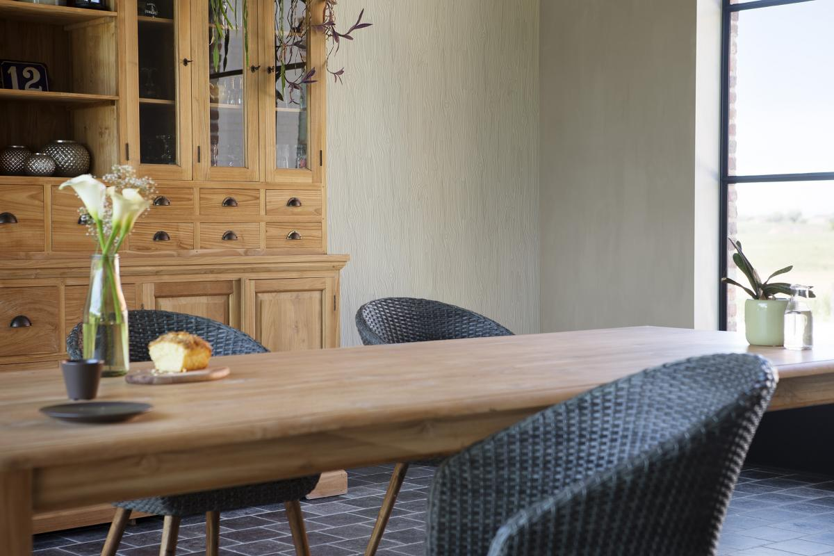 Tapisser votre salle à manger en beige