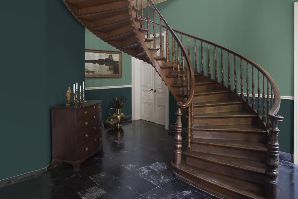 Peindre votre hall d'entrée en vert