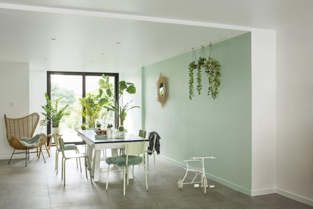 Peignez votre chambre vert