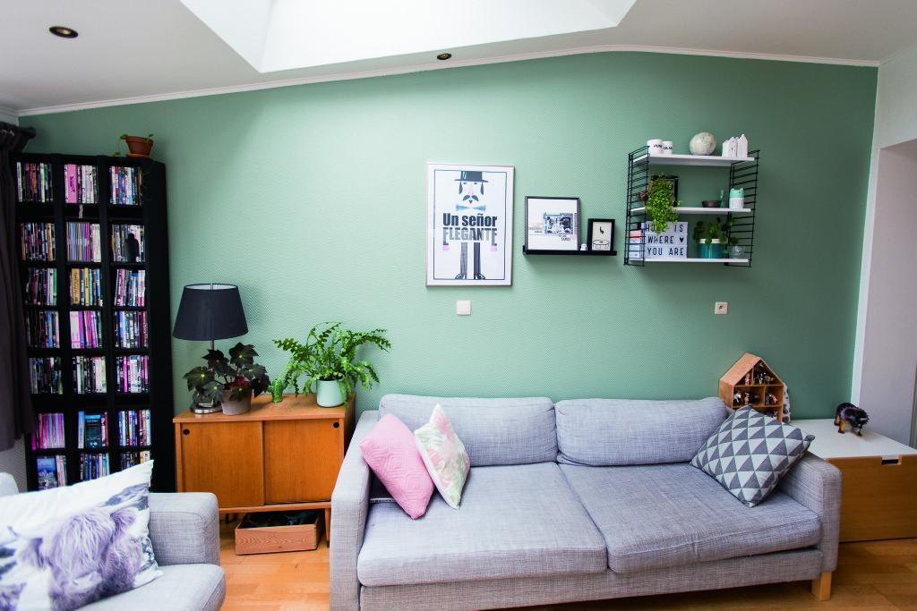 Peignez votre salon en vert