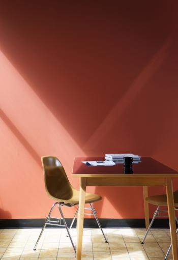 Peindre votre mur en rouge