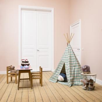 Peignez vos murs en rose