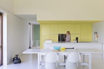 Peindre votre cuisine en jaune