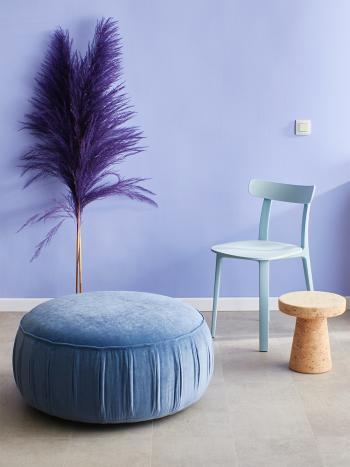 Les couleurs claires et douces donnent à votre intérieur plutôt neutre beaucoup de caractère d'une manière unique.