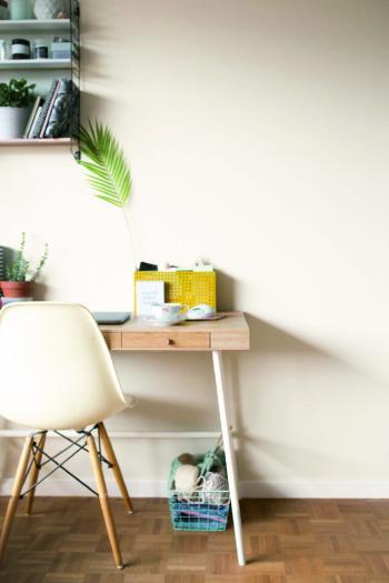Peignez votre chambre en blanc
