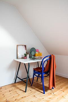 Des nuances énergiques combinées à des couleurs douces assurent une créativité vibrante