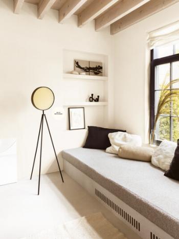 Une atmosphère minimaliste dans le salon