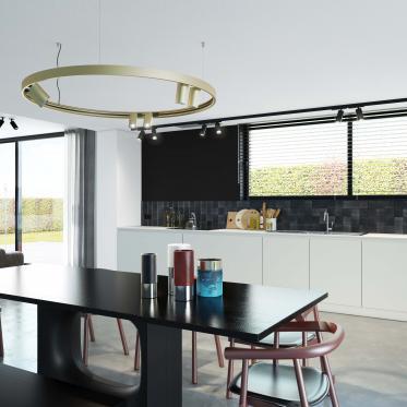 Créez un espace harmonieux avec un blanc intemporel dans la cuisine