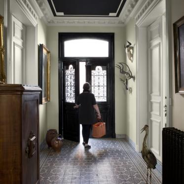 Inspiration - Peindre le couloir