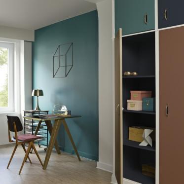 Peignez vos murs vert