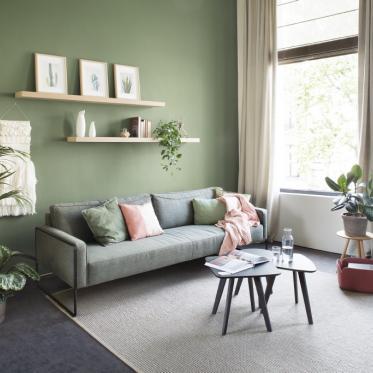 Peindre votre mur en vert