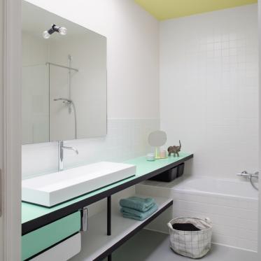 Peindre votre salle de bains