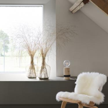 Peignez votre chambre à coucher en marron nostalique