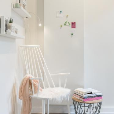 Peignez votre murs en blanc