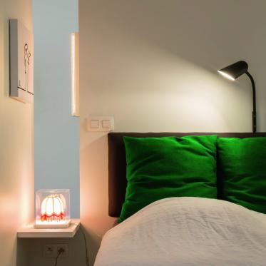 Peignez votre chambre à coucher en blanc