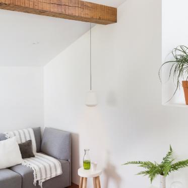 Peignez votre salon en blanc