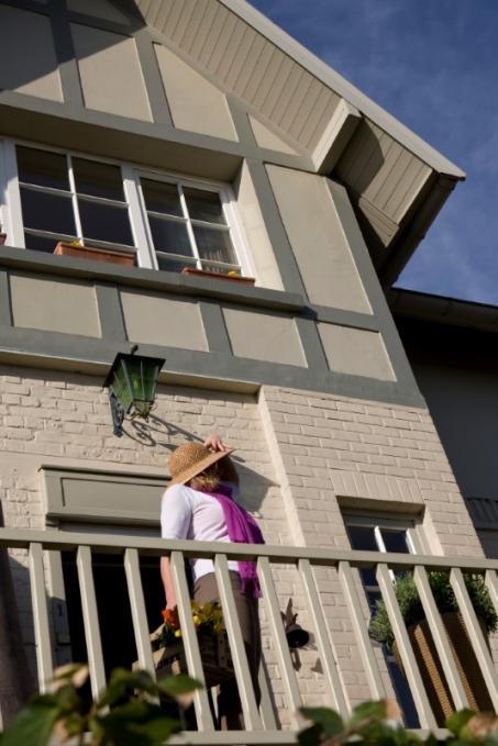 Peindre la façade