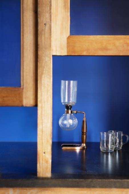 Peignez votre mur en bleu