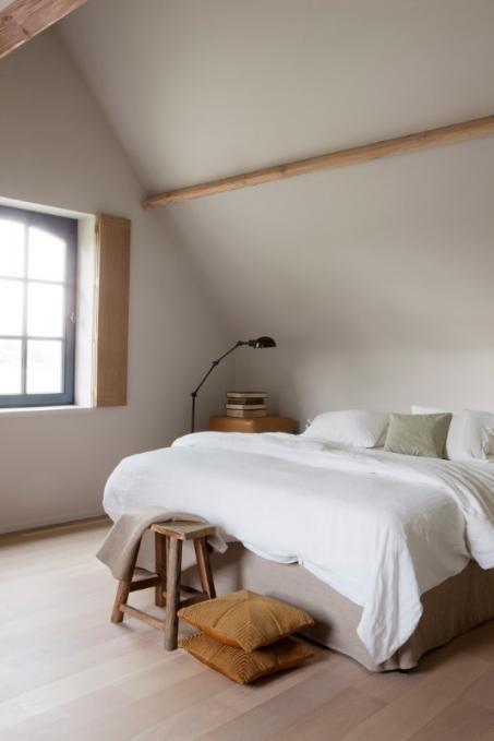 Peindre la chambre coucher en blanche for Peindre une chambre a coucher