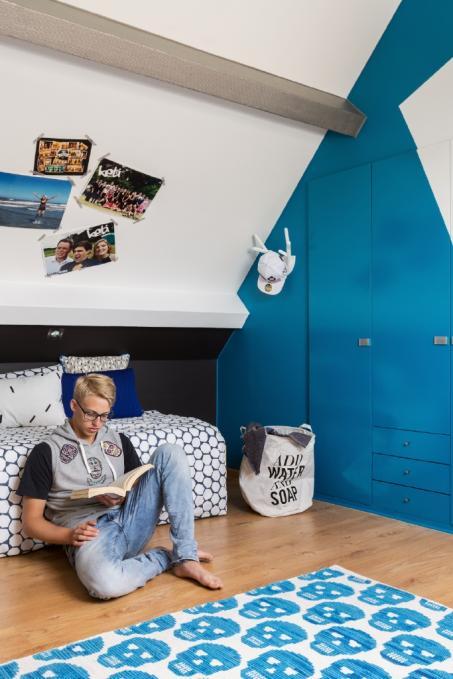 Peignez votre chambre en bleu et blanc