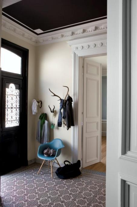 Peindre le couloir