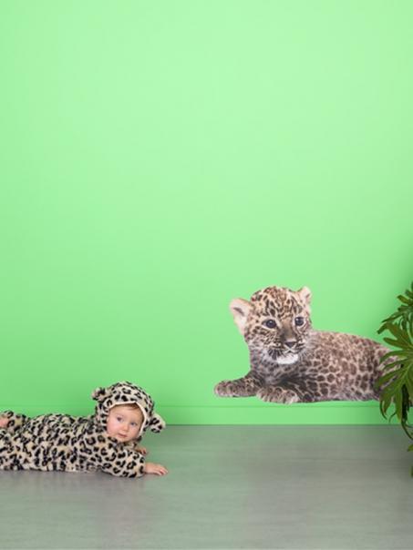 Autocollant léopard