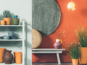 Des couleurs de peintures naturelles dans votre intérieur