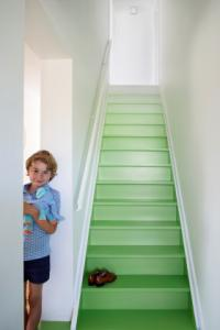 Peindre un escalier