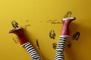 Comment enlever des taches sur votre mur fraîchement peint ?