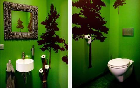 Blog peindre les toilettes un petit coin qui a du style for Peindre les toilettes