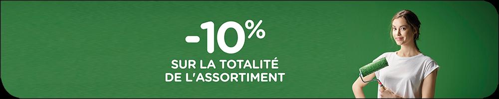 10% de réduction durant la semaine d'action chez colora !