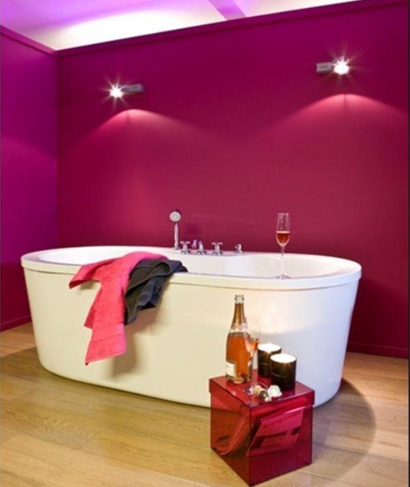 blog - les meilleures couleurs pour la salle de bains - colora.be - Salle De Bain Gris Et Fushia