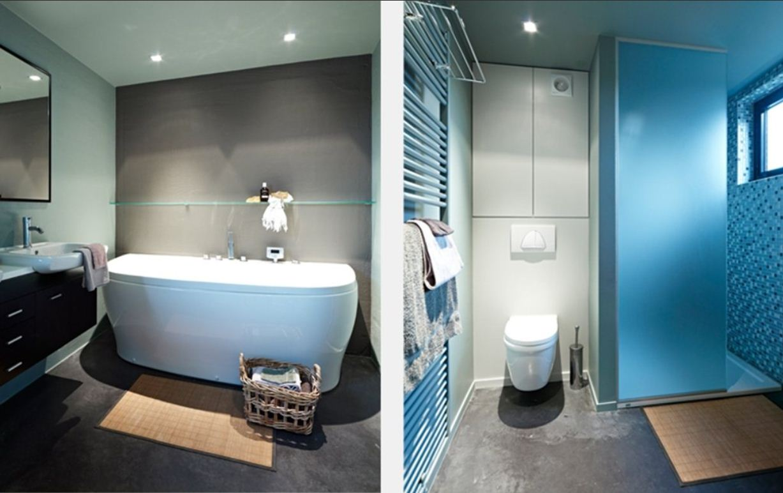 Blog les meilleures couleurs pour la salle de bains - Peinture speciale salle de bain ...